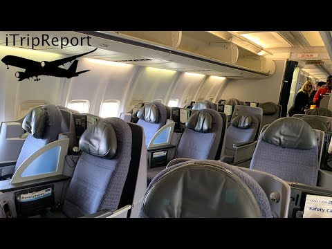 United Airlines 757-200 First Class Review