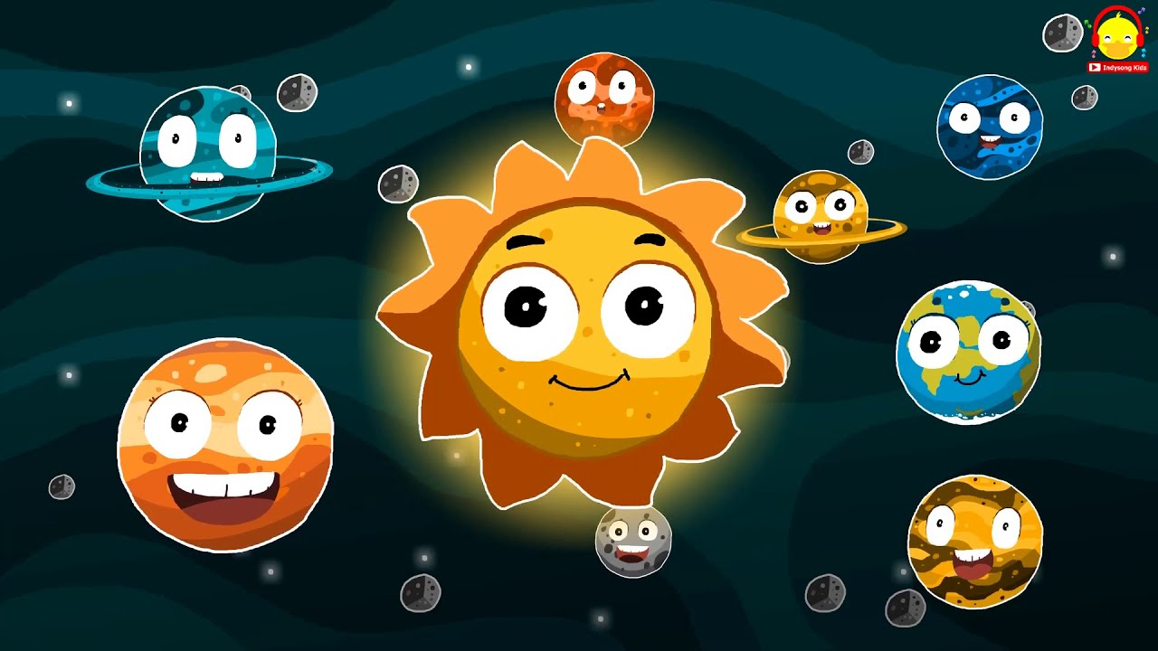 เพลงระบบสุริยะจักรวาล Planets song | Solar System