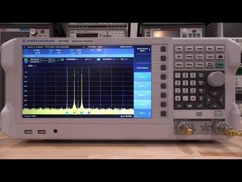 TSP #121 - Rohde & Schwarz FPC1500 5kHz - 3GHz Spectrum Analyzer Review, Teardown & Experiments