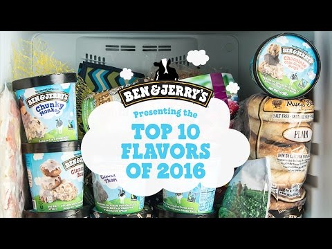 Top 10 Flavors of 2016 | Ben & Jerry's