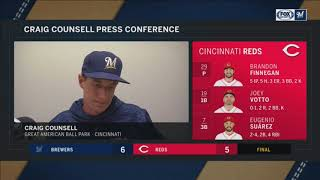Brewers' Craig Counsell has never seen a performance like Hader's