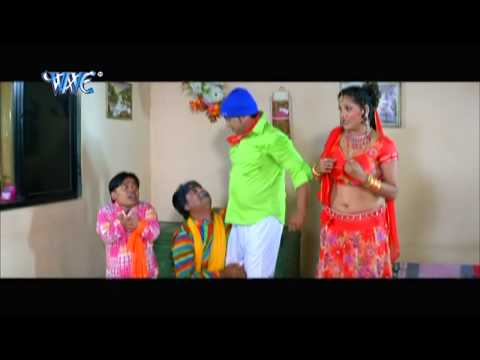 Romance With Boy Friend आवs ना डाल दी - Bhojpuri Hot Comedy Sence - Saiya Ke Sath Madhaiya Me HD