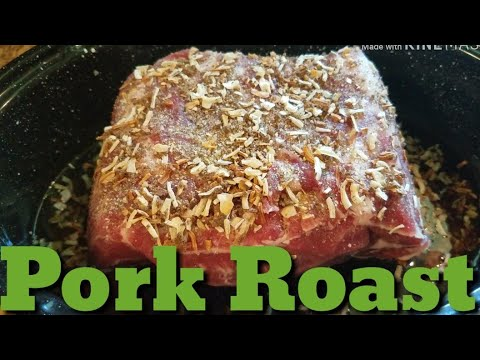 How To Cook Easy Pork Roast In The Oven