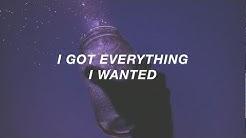 everything i wanted // billie eilish (lyrics)
