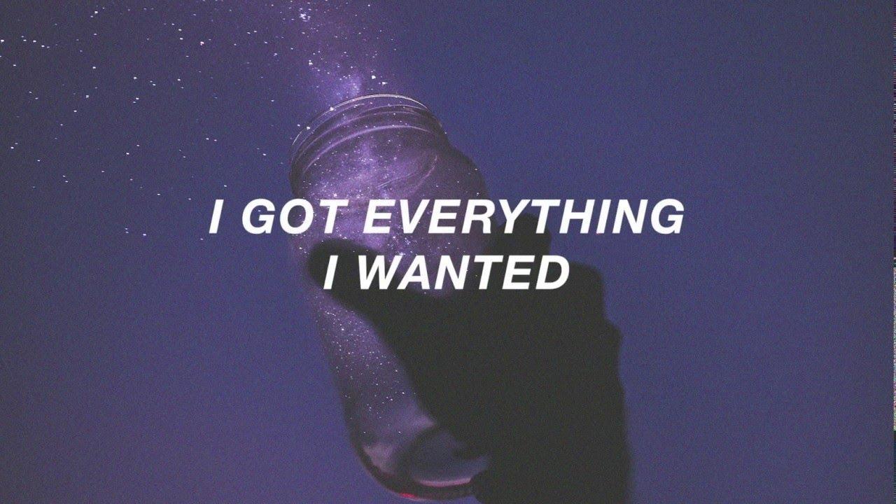 everything i wanted // billie eilish (lyrics) - YouTube