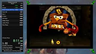 Donkey Kong 64 Any% in 27:39