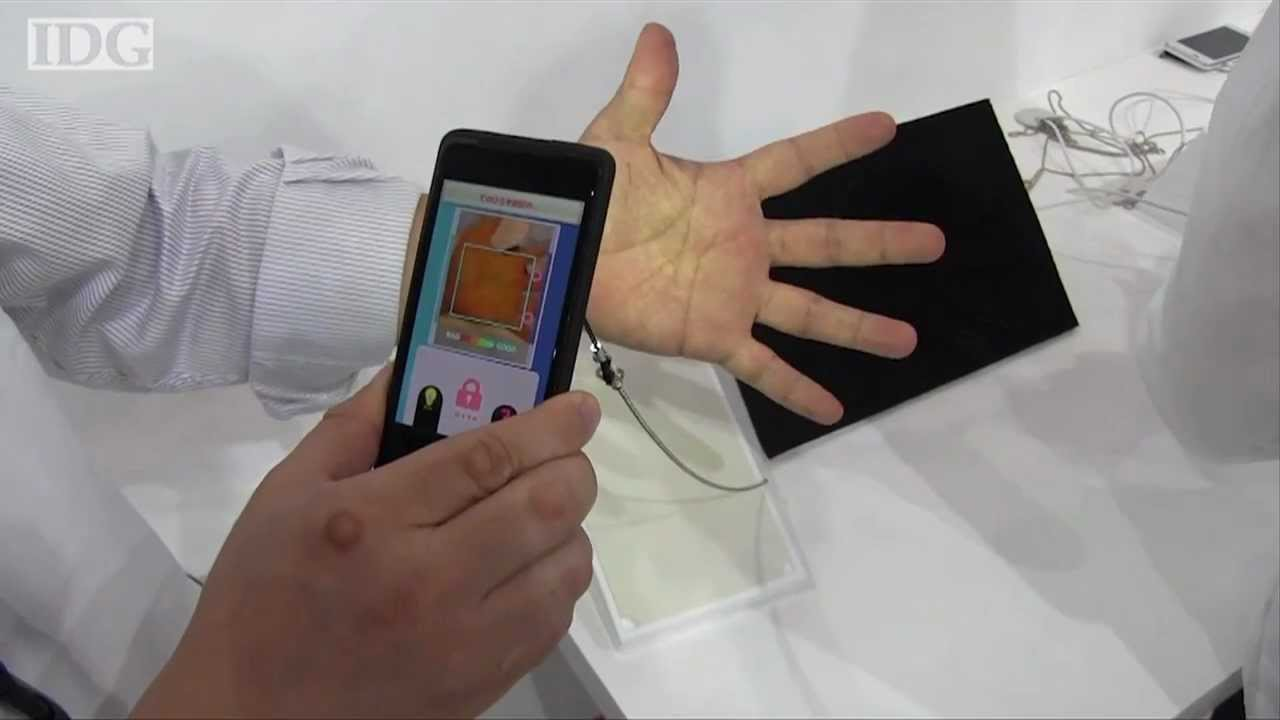 Palm Reading App - TechHive Update - YouTube