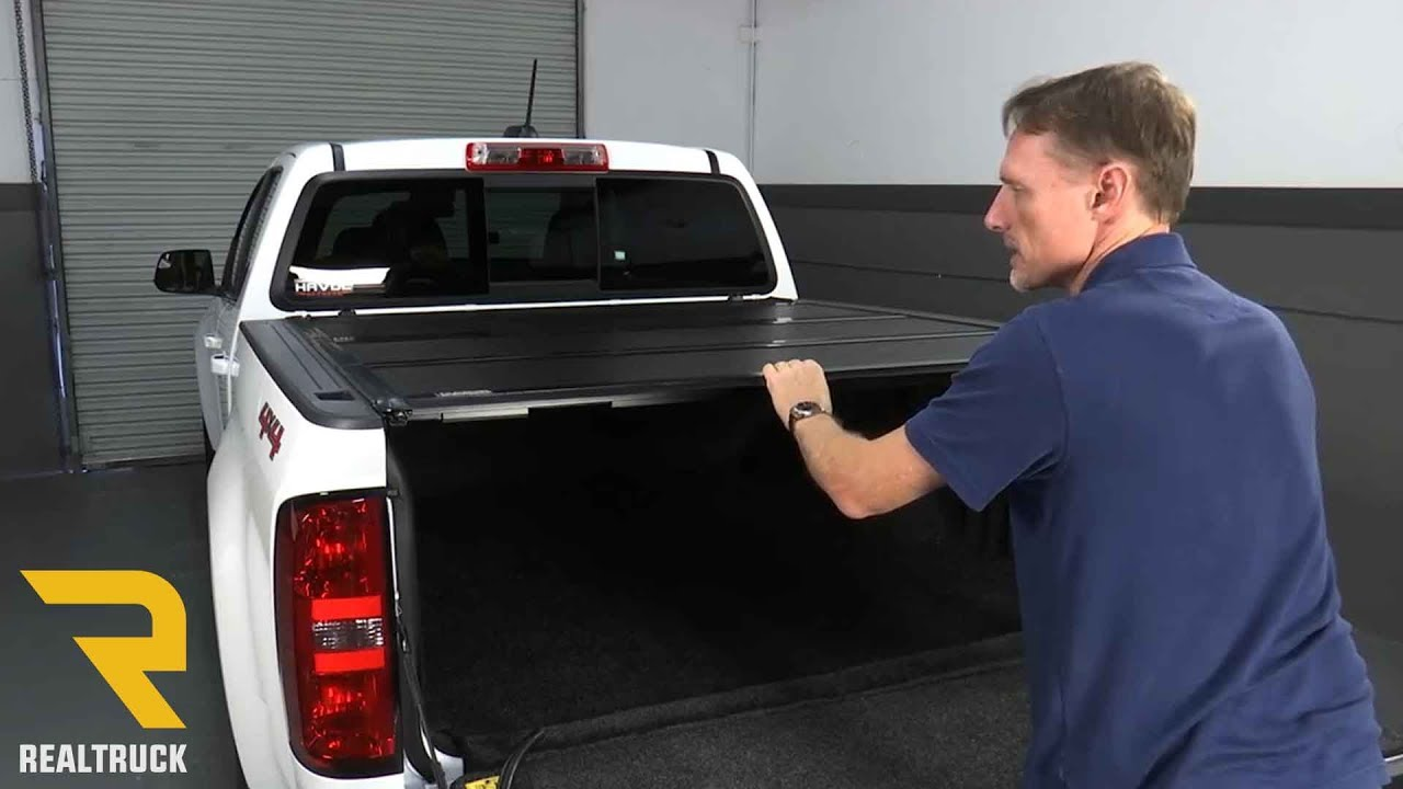 How To Install Gator Fx Tonneau Cover On A 2016 Chevy Colorado Youtube