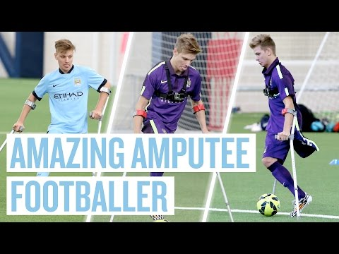 The Lad Who Beat Cancer To Become The Face Of Amputee Football