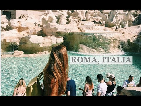 TWO WEEKS IN ROME!! Travel VLOG- Roma, ITALIA