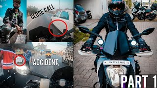 Chennai To Ooty Bike Ride In Duke 250 - First Solo Ride Of 547 Kms | Accident & Close Calls | Part 1