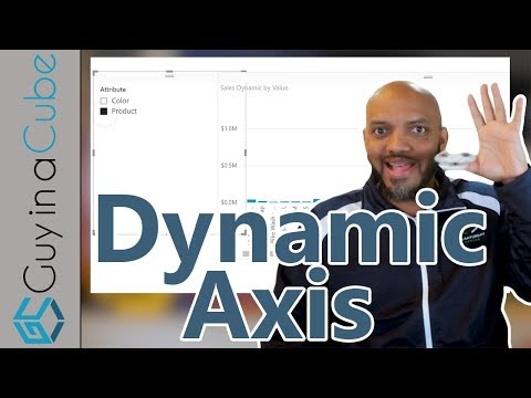 Dynamically change chart axis in Power BI
