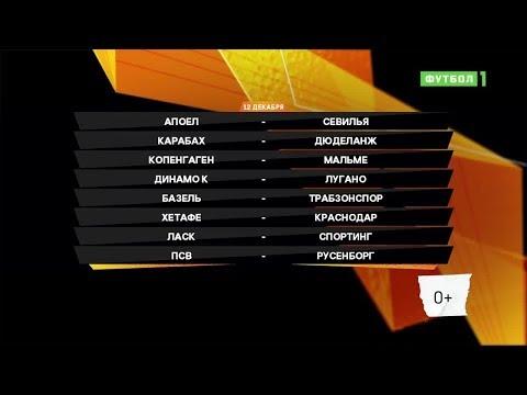Лига Европы. Обзор матчей 12.12.2019
