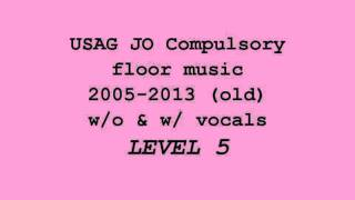 USAG JO Compulsory floor music (old) Level 5