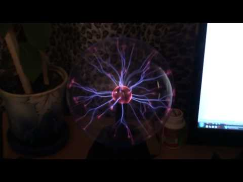 cool electric crystal ball [slow motion]  time-space-rhytm