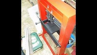 A Diy Hydraulic Press