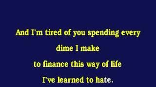 Jv0070 06 Travis, Randy Better Class Of Losers [karaoke]