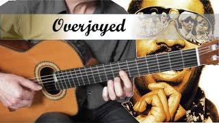 Overjoyed - Stevie Wonder - Guitar Cover