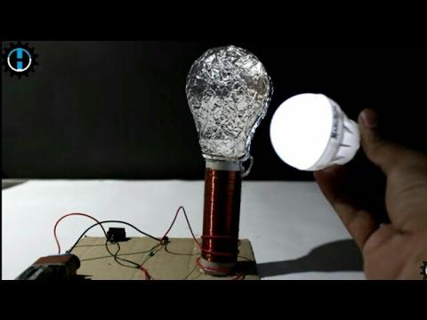 How to Make Mini Tesla Coil- Wireless energy transmission