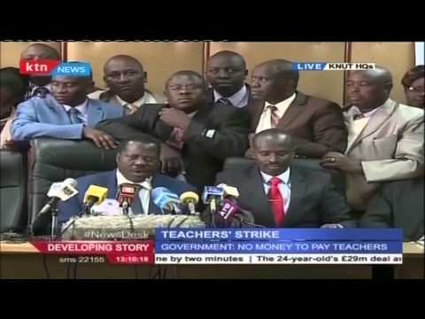 Kenyan National Union of Teachers officially can on teachers to boycott classes