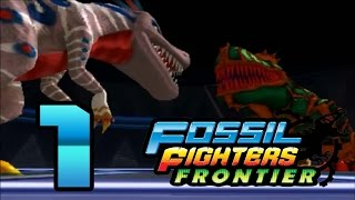 Fossil Fighters Frontier: Part 1 (Dark Vivasaur??) [Blind]