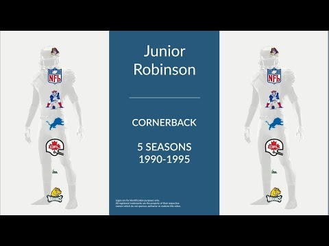 Junior Robinson: Football Cornerback