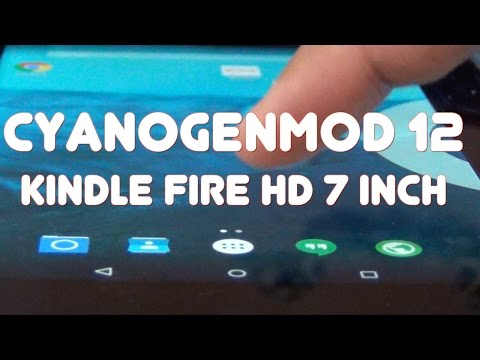Android 5.0 On Kindle Fire Hd 7 Inch (CM 12)