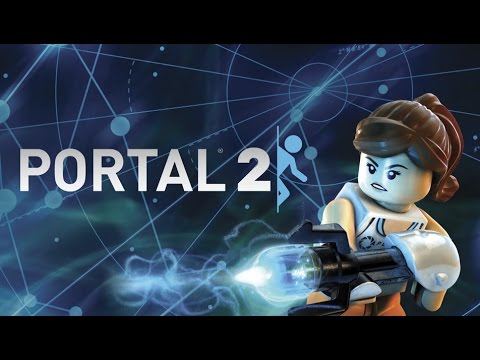 With Portal Gun LEGO® Portal™  Chell Minifig