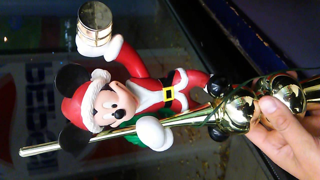 mr  christmas animated mickey mouse tree topper