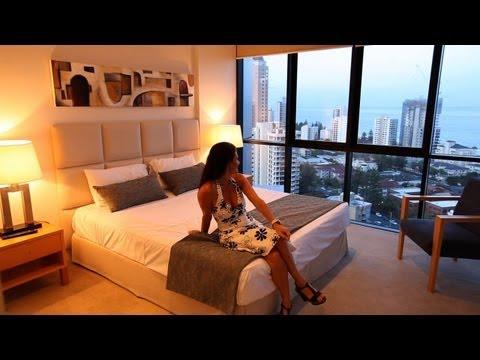 Aria Luxury Holiday accommodation Broadbeach Gold Coast Queensland
