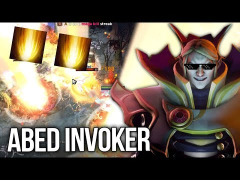 Abed One of the Best Invokers! EPIC Cataclysm Plays - Crazy Gameplay Dota 2