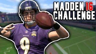 Justin Tucker QB SACK! Madden 16 NFL Challenge! Kickers VS Punters Sack Competition!