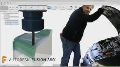 Fusion 360 CAM Tutorial— 3D Machining- Basic