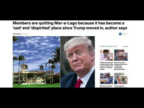 Former President Donald Trump Lose Mar-a-Lago Memberships