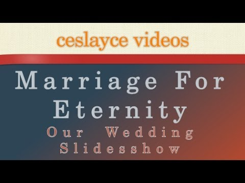 Marriage for Eternity