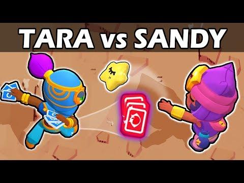 TARA vs SANDY | 1vs1 | Brawl Stars
