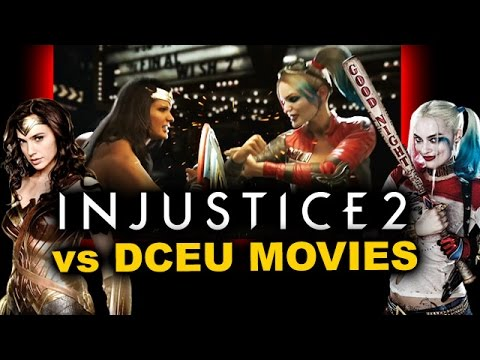 Injustice 2 Trailer Breakdown - Gameplay VS DCEU Movies