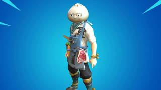 *LEAKED* FORTNITE BAO BROS SKIN IN-GAME