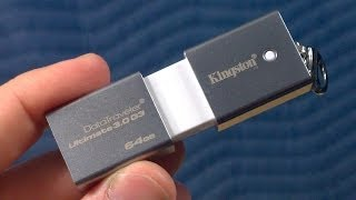 Quick Review: The Kingston DataTraveler Ultimate G3 64GB USB 3.0 Flash Drive
