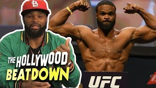 Tyron Woodley Talks Surgery, Calls Out GSP | The Hollywood Beatdown