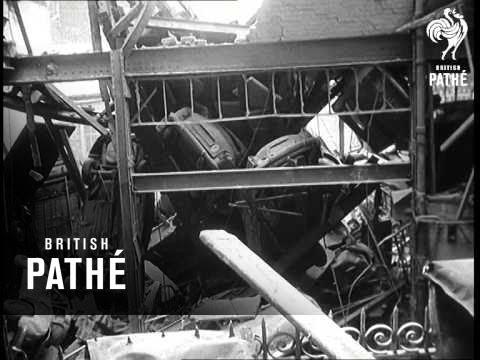 Garage Blast Kills 16 (1958)