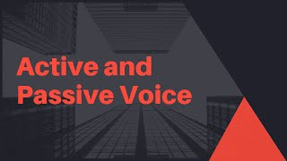 Active Voice and Passive Voice in English Grammar| Change Active Voice to Passive Voice