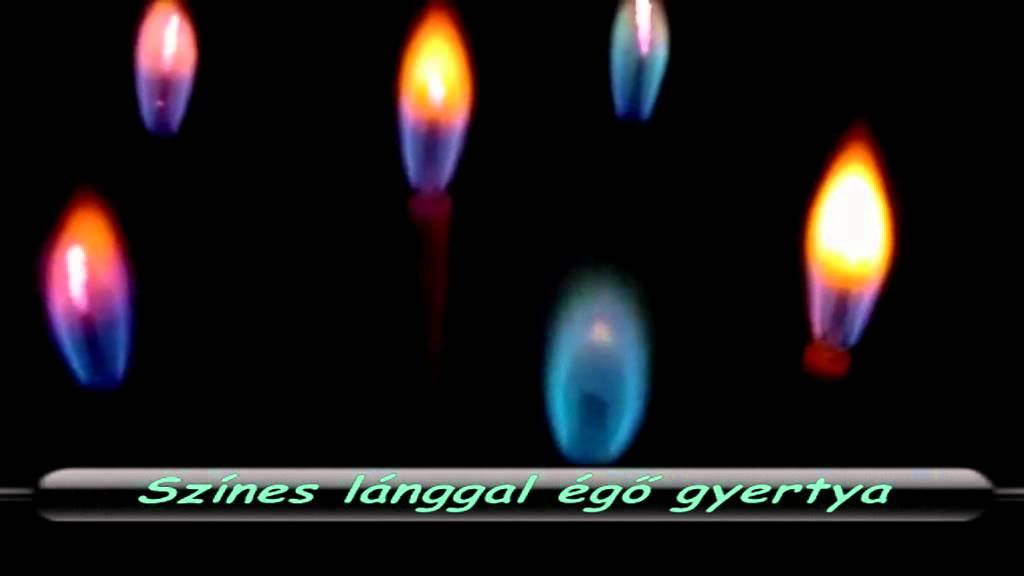 különleges szülinapi gyertyák Színes lánggal égő gyertya   YouTube különleges szülinapi gyertyák
