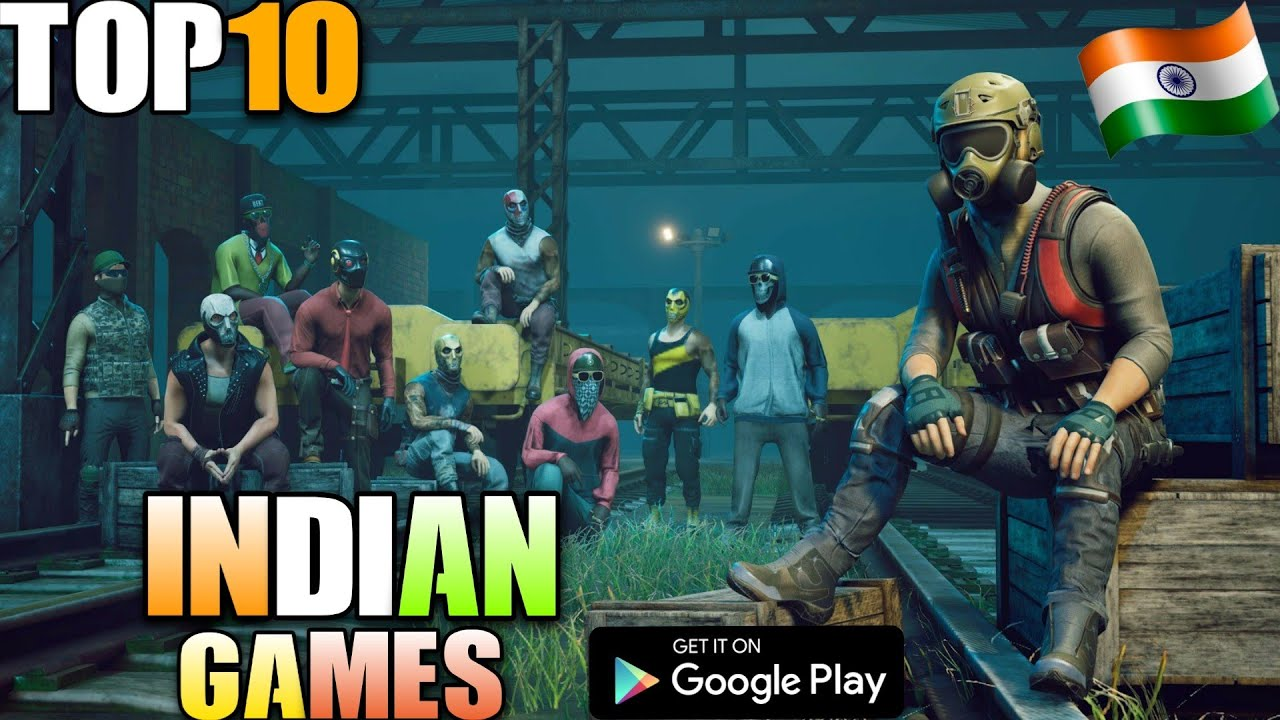 TOP 10 INDIAN GAMES FOR ANDROID IN 2020 | OFFLINE | Binod Game Also Available😁