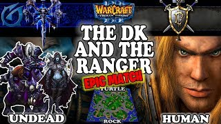 Grubby | Warcraft 3 TFT | 1.30 | UD v HU on Turtle Rock - The DK and The Ranger