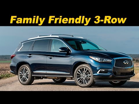 2016 / 2017  Infiniti QX60 First Drive Review
