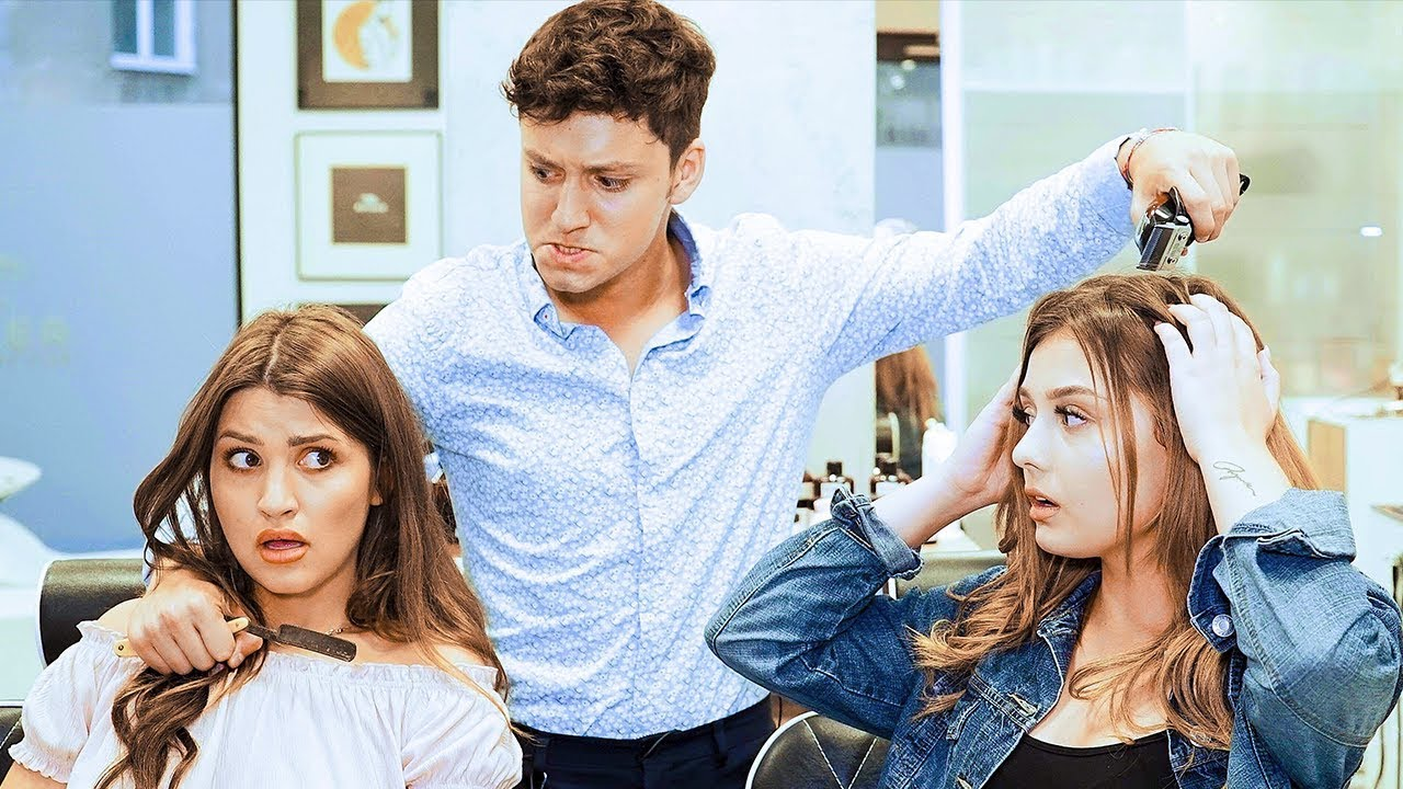 KOBIETY vs. FACECI: WIZYTA U FRYZJERA   Danny Ferreri & Paulina Soboń
