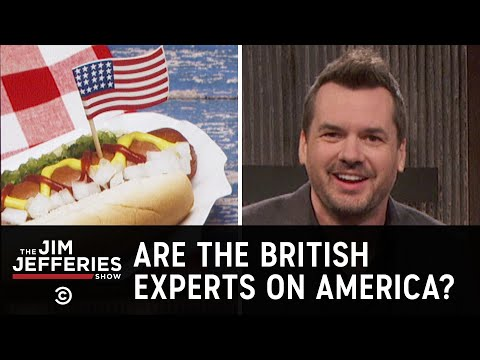 No One Knows More About America Than the British  The Jim Jefferies Show