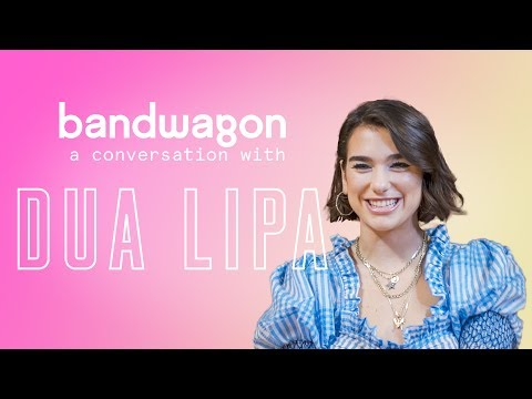 Dua Lipa talks about her new album and reacts to a Singaporean parody of 'New Rules'
