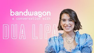 Dua Lipa talks about her new album and reacts to a Singaporean parody of